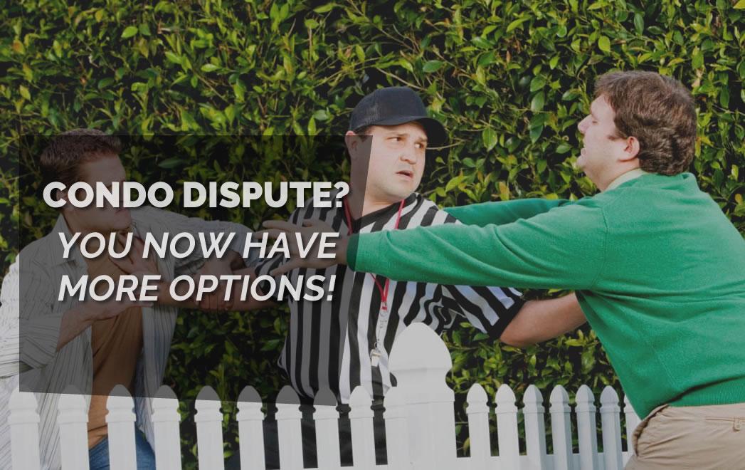 condo dispute Ontario